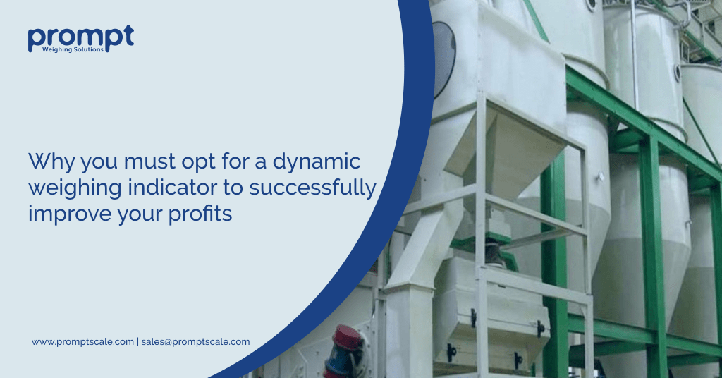 Why you must opt for a dynamic weighing indicator to successfully improve your profits